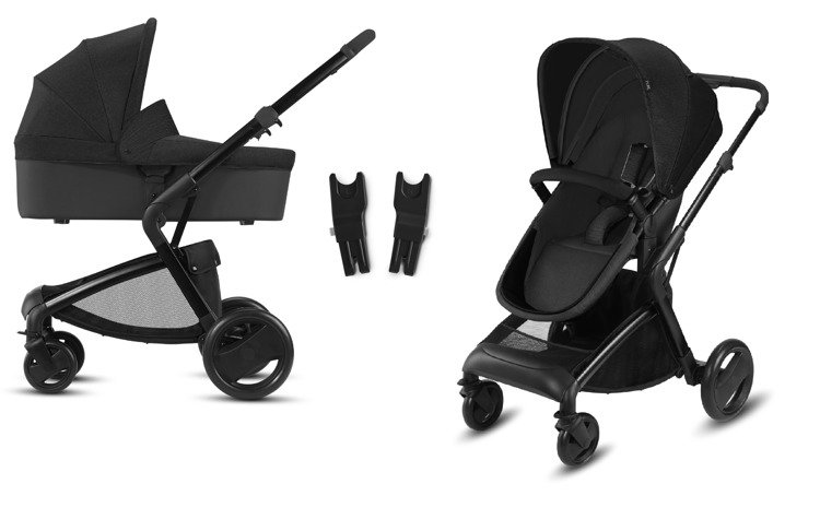 CBX by Cybex Bimisi Pure Smoky Anthracite Bērnu rati 2in1