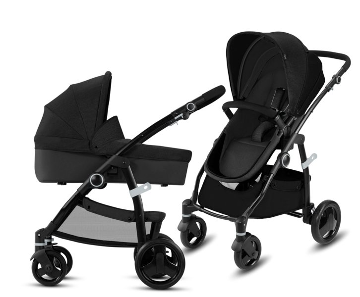 CBX by Cybex Leotie Pure Smoky Anthracite Bērnu rati 2in1
