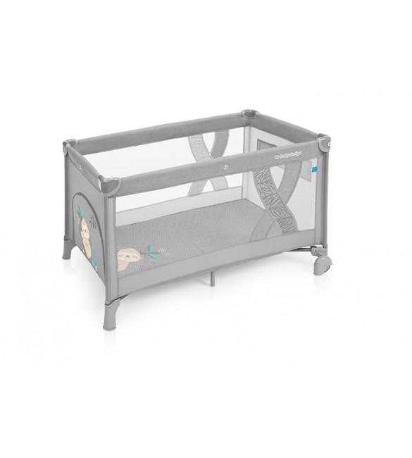 Ceļojumu gultiņa manēža Baby Design SIMPLE Koala graphit 07 (melange)