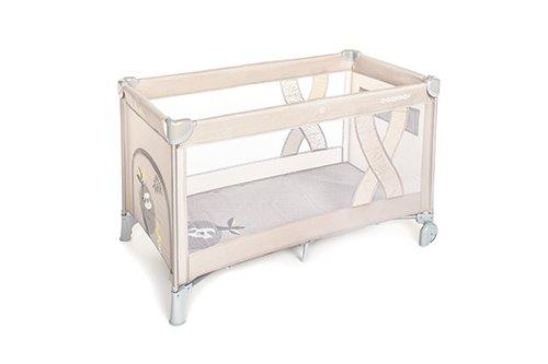 Ceļojumu gultiņa manēža Baby Design SIMPLE Sloth beige 09 (melange)