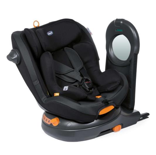 Chicco Around U I-Size Jet black Bērnu autosēdeklis 0-18 kg