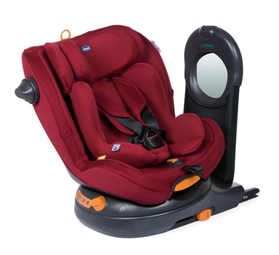 Chicco Around U I-Size Red passion Bērnu autosēdeklis 0-18 kg
