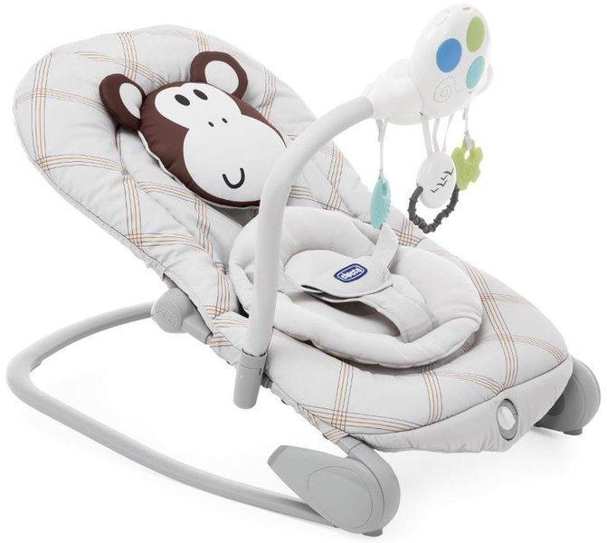 Chicco Balloon Birch Monkey Šūpuļkrēsliņš