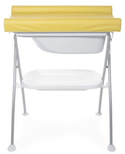 Chicco Bubble Land 2in1 Saffron Bērnu galds ar vanniņu un pārtinamo virsmu