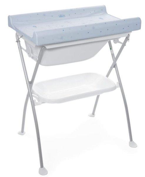 Chicco Bubble Land 2in1 Teddy bear Bērnu galds ar vanniņu un pārtinamo virsmu