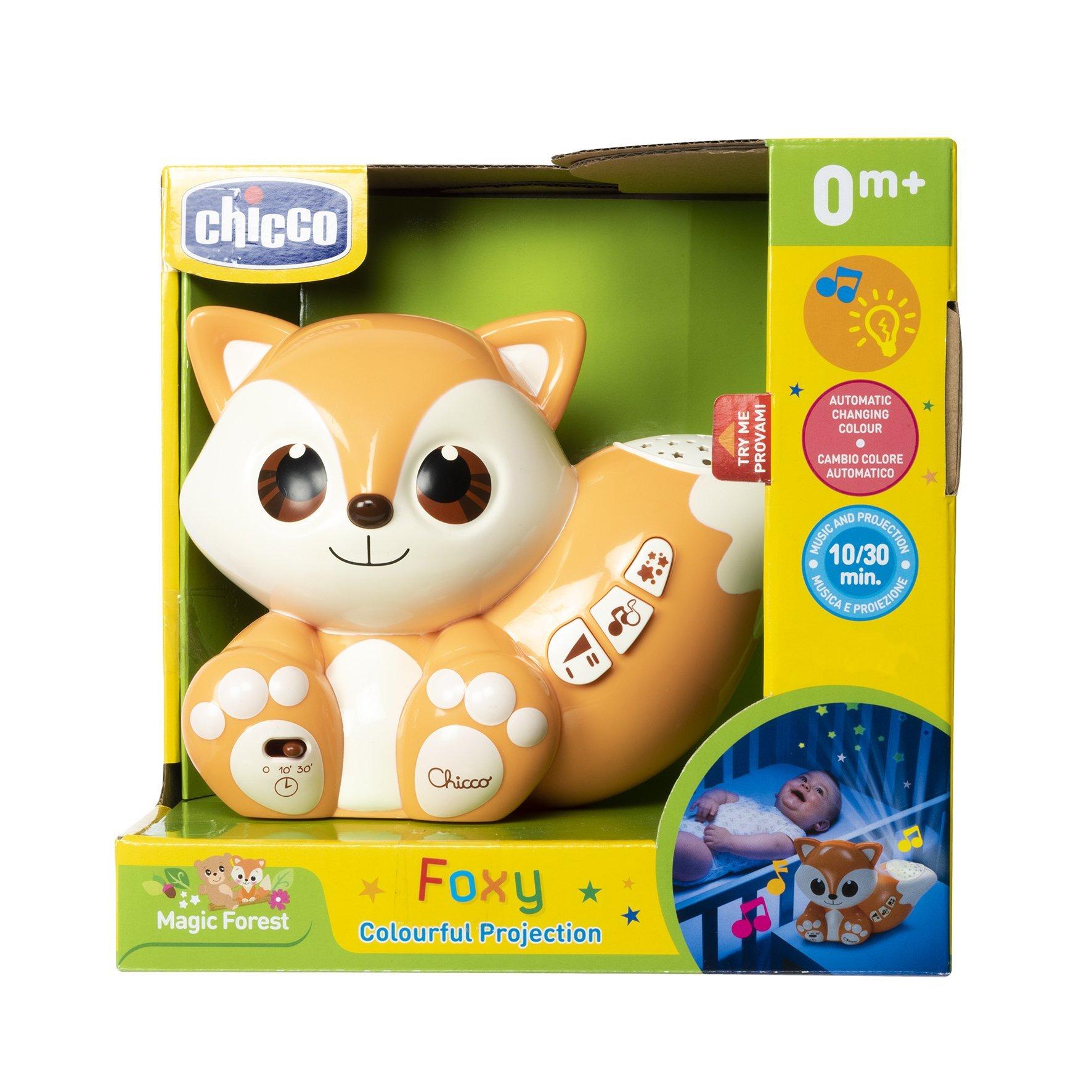 Chicco Foxy Muzikālā Naktslampiņa - Projektors 0m+