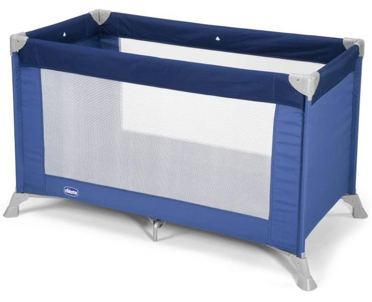 Chicco Good Night Blue Ceļojumu gultiņa manēža