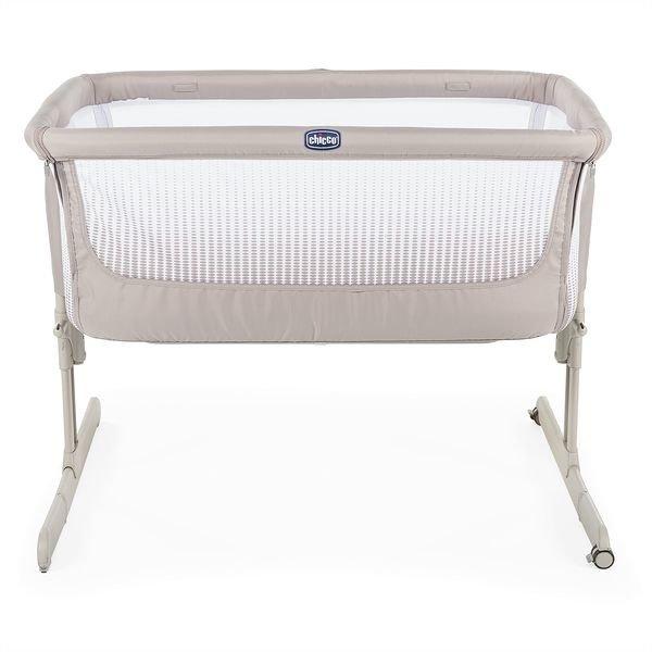 Chicco Next2Me Air Dark Beige Bērnu gulta-šūpulis