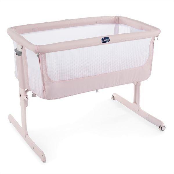 Chicco Next2Me Air Paradise Pink Bērnu gulta-šūpulis