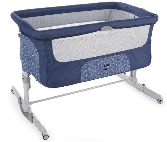 Chicco Next2me Dream Navy Bērnu gulta-šūpulis