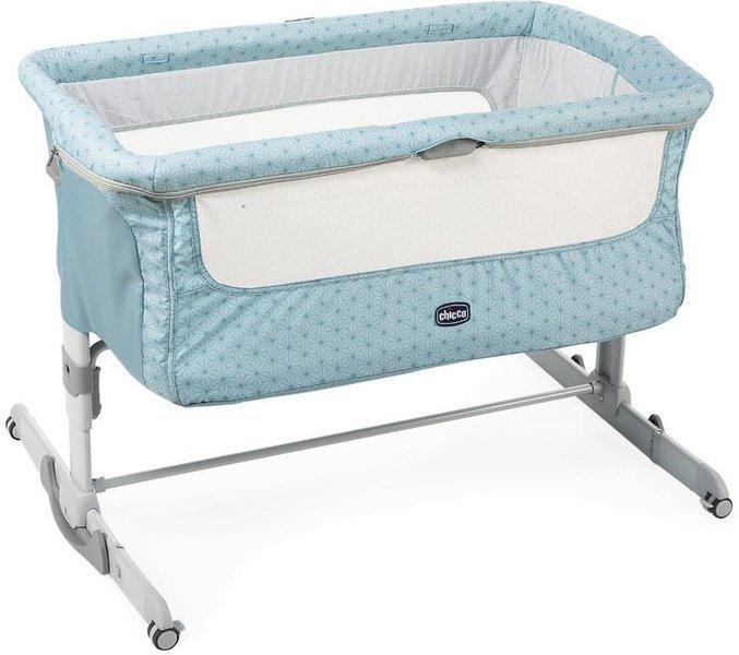 Chicco Next2me Dream Sage Bērnu gulta-šūpulis