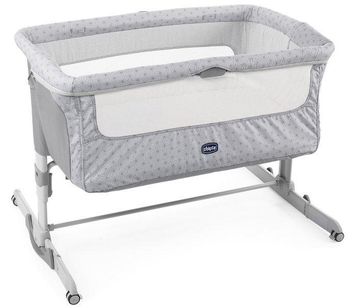 Chicco Next2me Dream Silver Bērnu gulta-šūpulis