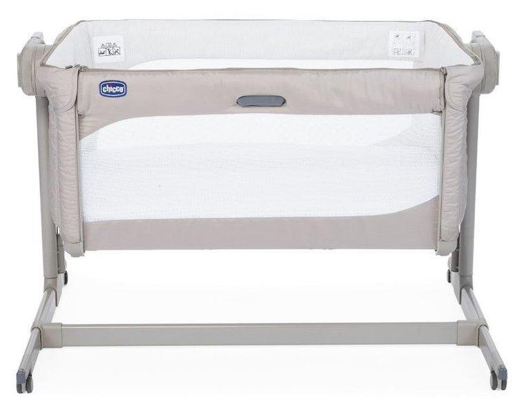 Chicco Next2Me Magic New Beige Bērnu gulta-šūpulis