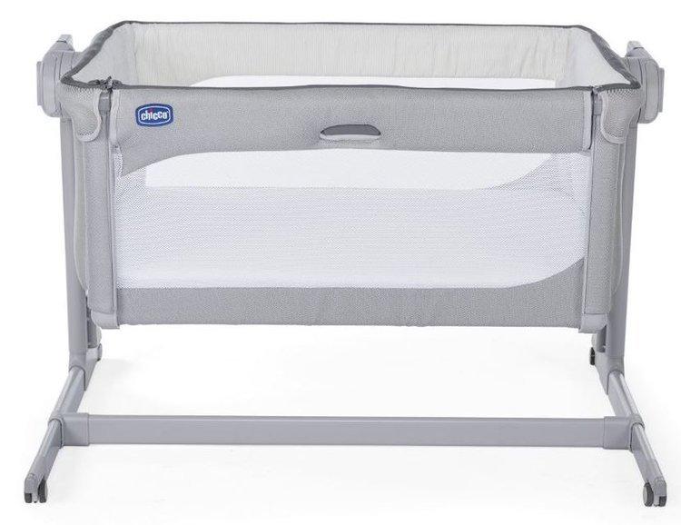 Chicco Next2Me Magic New Cool Grey Bērnu gulta-šūpulis