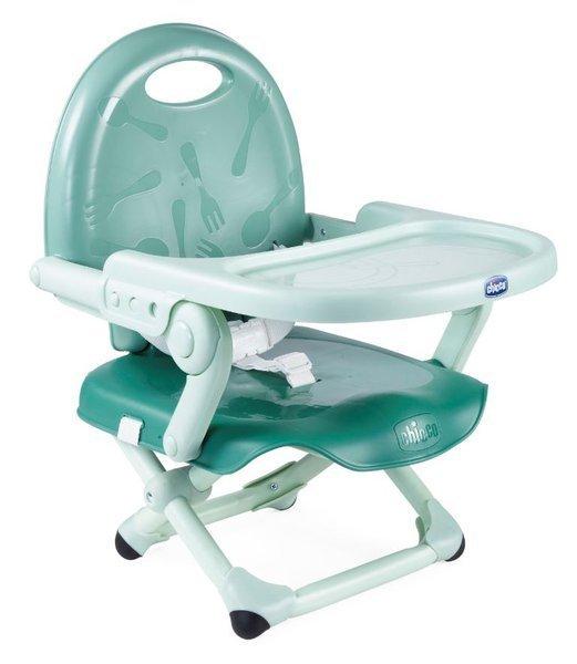 Chicco Pocket Snack Sage Barošanas krēsliņš