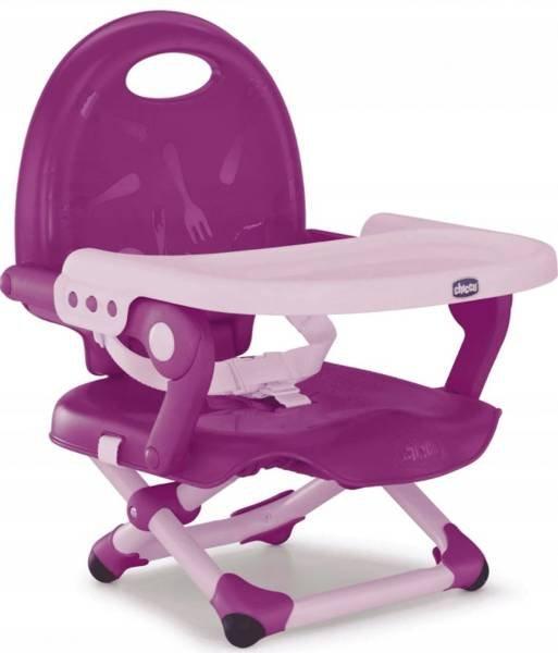 Chicco Pocket Snack Violet Barošanas krēsliņš