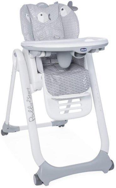 Chicco Polly 2 Start Dots Barošanas krēsliņš