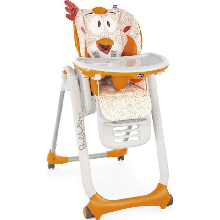Chicco Polly 2 Start Fancy Chicken Barošanas krēsliņš