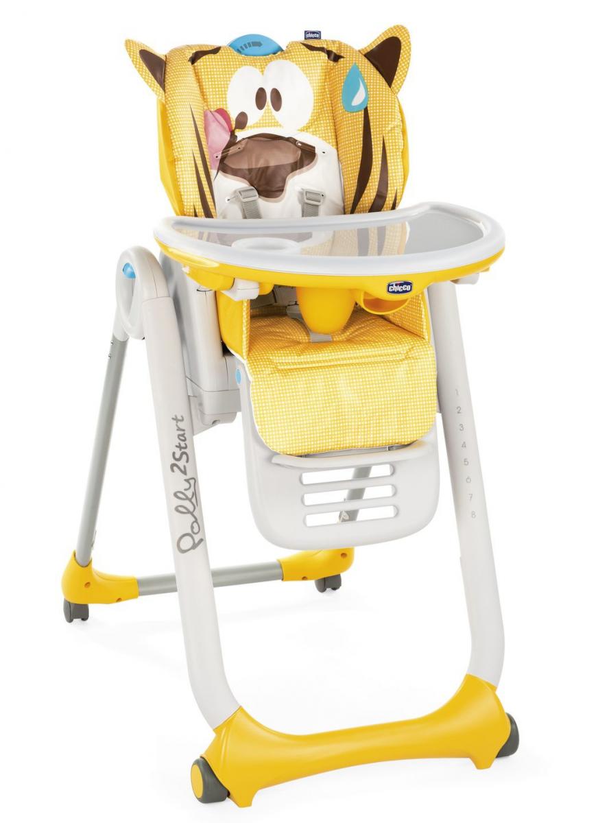 Chicco Polly 2 Start Jungle Barošanas krēsliņš
