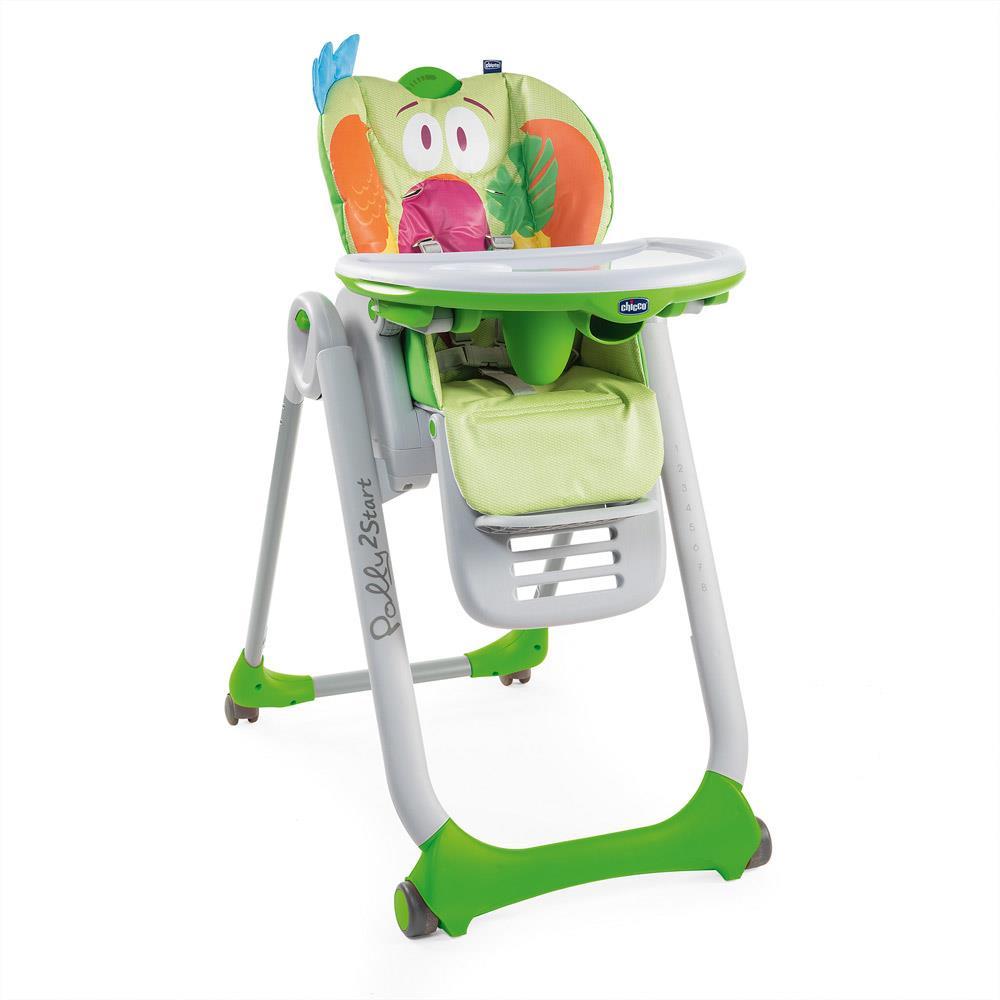 Chicco Polly 2 Start Parrot Barošanas krēsliņš