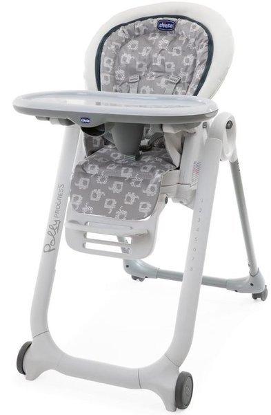 Chicco Polly Progres5 5in1 Light Grey Krēsls-transformeris