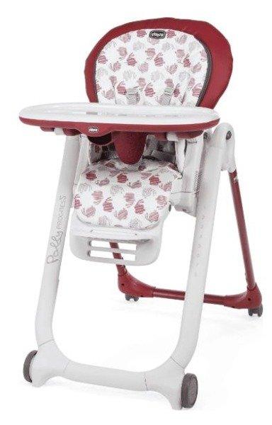 Chicco Polly Progres5 5in1 Red Krēsls-transformeris