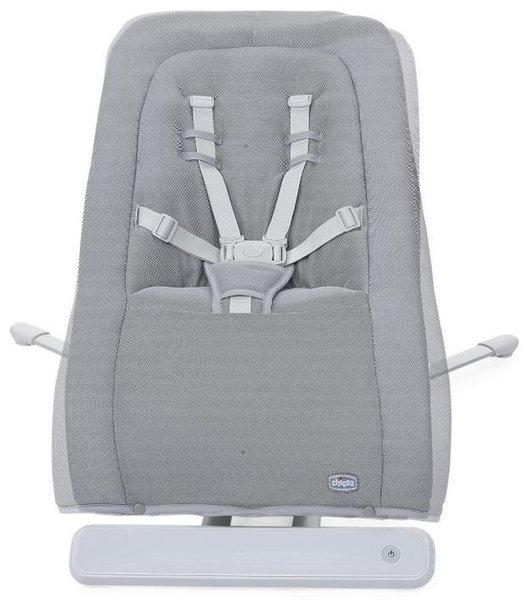 Chicco Rhythm 'n' Sound Cool Grey Šūpuļkrēsls