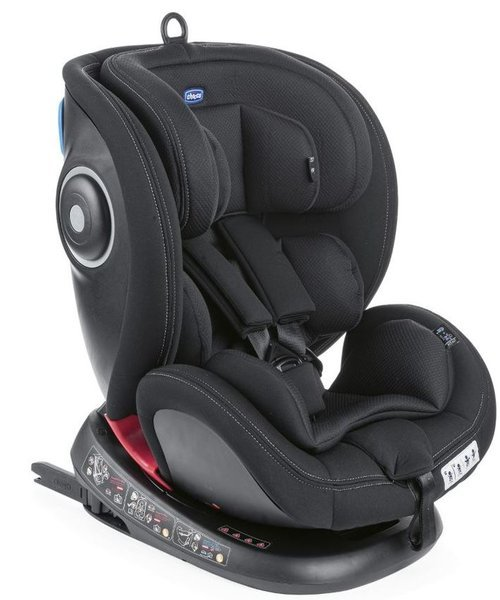 Chicco Seat4Fix Black Bērnu autosēdeklis 0-36 kg