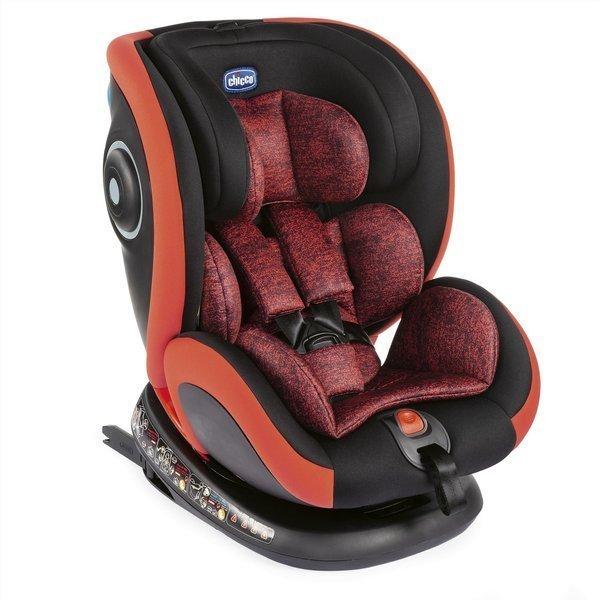 Chicco Seat4Fix Poppy red Bērnu autosēdeklis 0-36 kg