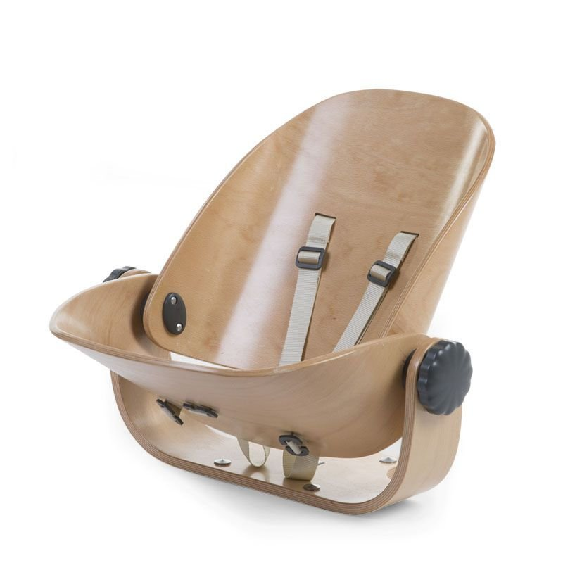 CHILDHOME Evolu Newborn Seat nat/ant for Evolu2 + One80° Barošanas krēsls