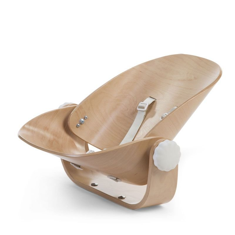CHILDHOME Evolu Newborn Seat nat/wh for Evolu2 + One80° Barošanas krēsls