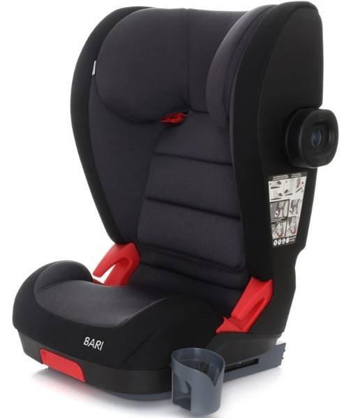 Coto Baby Bari Black melange 01 Bērnu autosēdeklis 15-36 kg