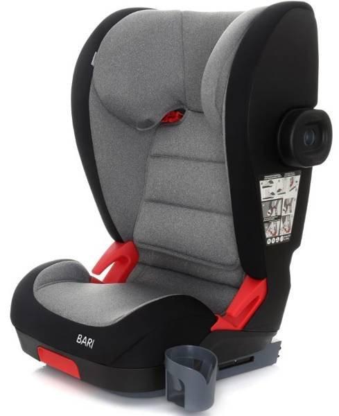 Coto Baby Bari Dark grey melange 13 Bērnu autosēdeklis 15-36 kg