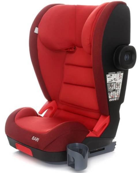 Coto Baby Bari Red melange 32 Bērnu autosēdeklis 15-36 kg