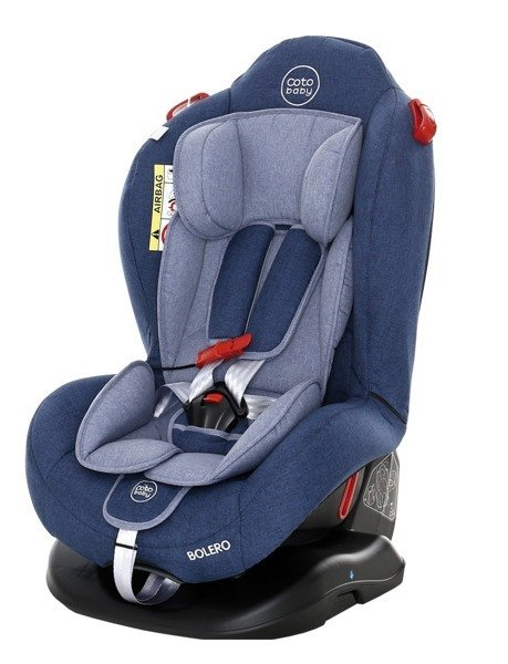 Coto Baby Bolero Blue melange 34 Bērnu autosēdeklis 0-25 kg