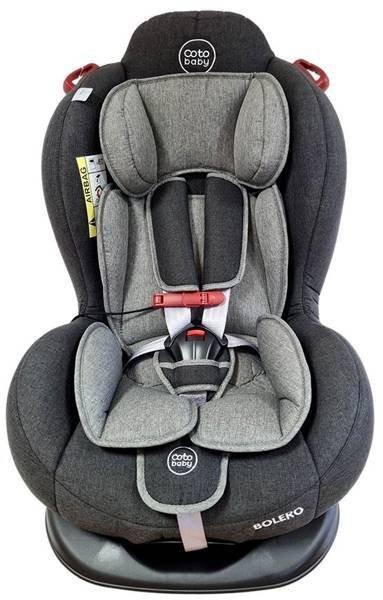 Coto Baby Bolero Dark grey melange 13 Bērnu autosēdeklis 0-25 kg