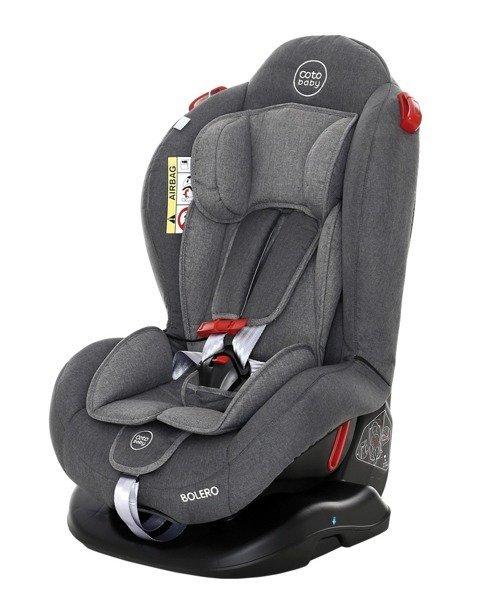 Coto Baby Bolero Grey melange 31 Bērnu autosēdeklis 0-25 kg