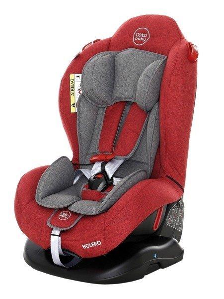 Coto Baby Bolero Red melange 32 Bērnu autosēdeklis 0-25 kg