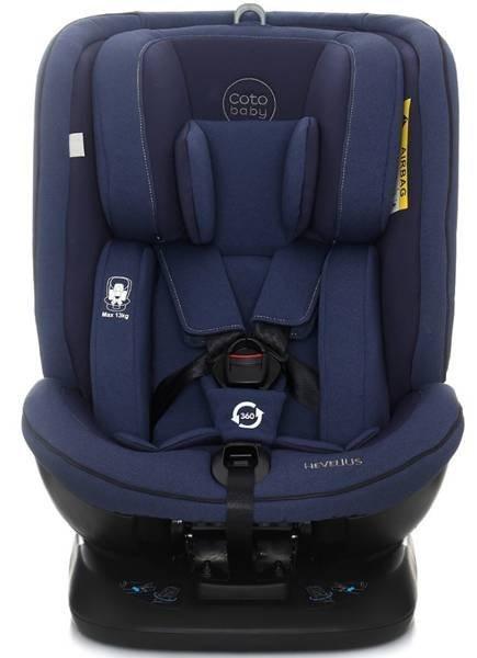 Coto Baby Hevelius Blue melange 34 Bērnu autosēdeklis 0-36 kg
