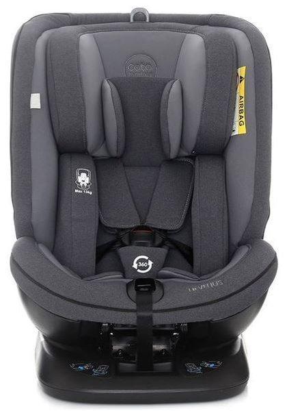 Coto Baby Hevelius Dark grey melange 13 Bērnu autosēdeklis 0-36 kg