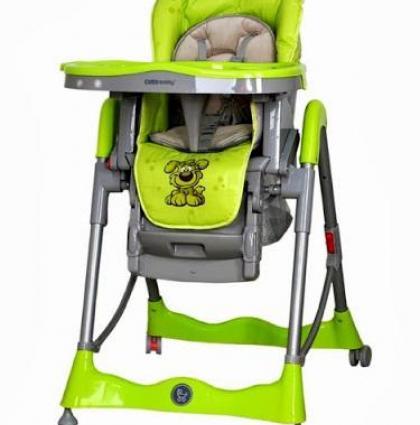 Coto Baby MAMBO Green Barošanas krēsls