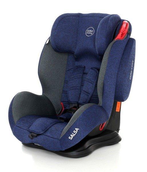 Coto Baby Salsa Blue Melange 34 Bērnu autosēdeklis 9-36 kg