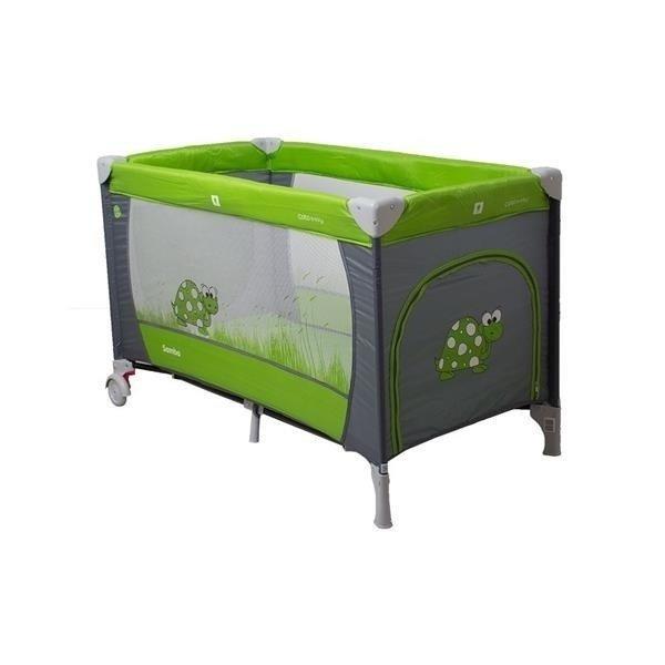 Coto Baby Samba GREEN Ceļojumu gultiņa manēža