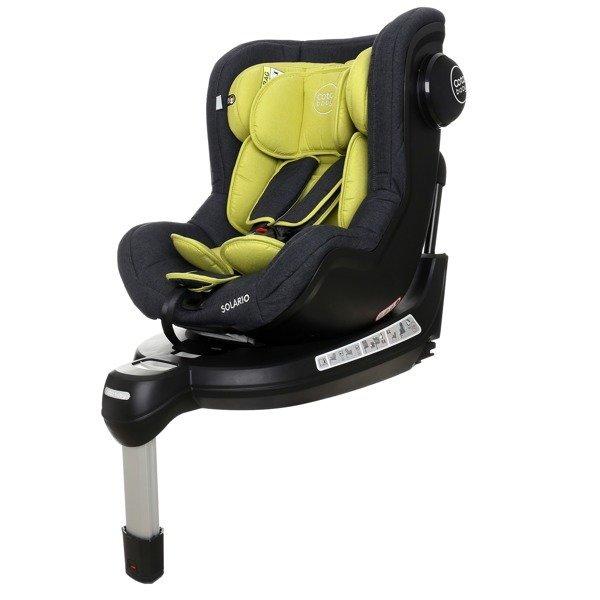 Coto Baby Solario Olive melange 33 Black Bērnu autosēdeklis 0-18 kg