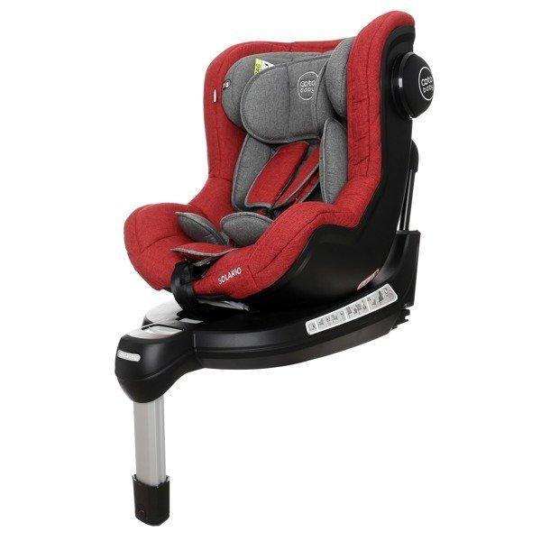 Coto Baby Solario Red melange 32 Black Bērnu autosēdeklis 0-18 kg