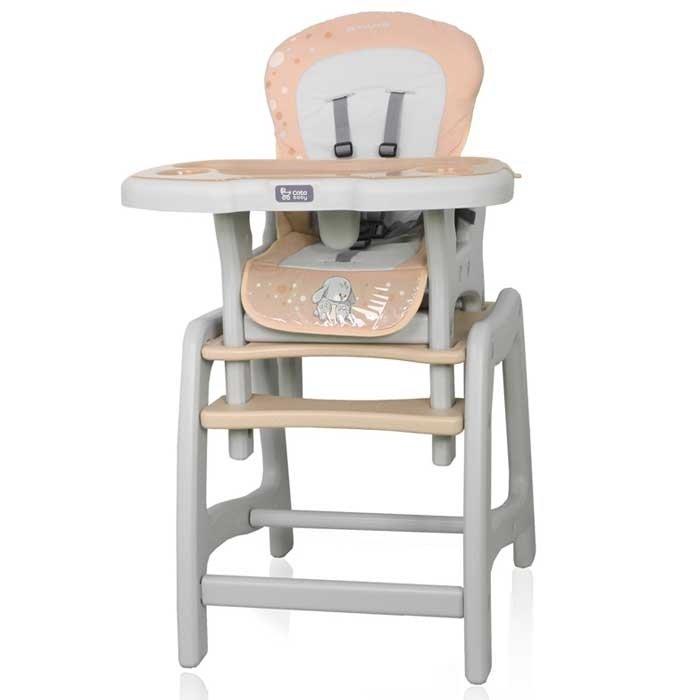 Coto Baby Stars Brown Barošanas krēsls-transformeris 2in1