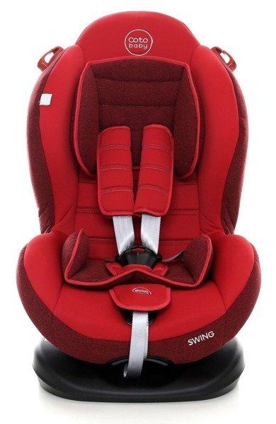 Coto Baby Swing Red melange Bērnu autosēdeklis 9-25 kg