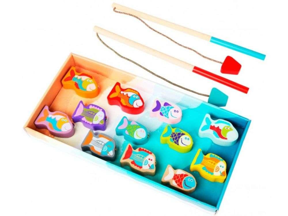 Cubika Fishing Game Makšķerēšanas spēle ar magnētiem