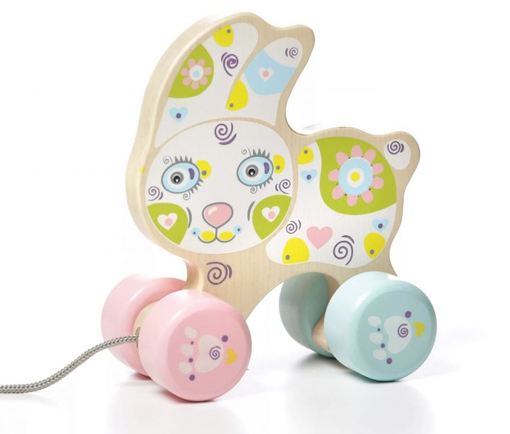 Cubika Happy Rabbit Koka stumjama rotaļlieta