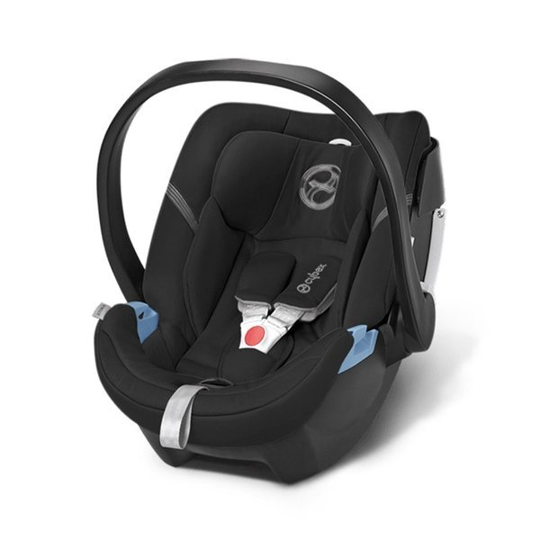 Cybex Aton 4 + ISOFIX Base 2-fix Happy Black Bērnu autosēdeklis 0-13 kg